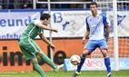 Torschuss Schuss von Zlatko Junuzovic SV Werder Bremen Aktion gegen Fabian Schär TSG 1899 Hoffenheim / Bild: (c) imago/Michael Weber (imago sportfotodienst)