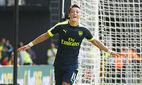 Themen der Woche SPORT Bilder des Tages SPORT Mesut Ozil of Arsenal celebrates scoring a goal af / Bild: (c) imago/BPI (imago sportfotodienst)