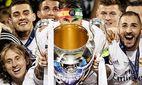 L R Marcelo Luka Modric Cristiano Ronaldo Sergio Ramos Tony Kroos Karim Benzema of Real Madri / Bild: (c) imago/VI Images (imago sportfotodienst)