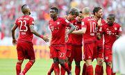 Muenchen die Mannschaft freut sich ueber das Tor von Thomas Mueller 25 FC Bayern Muenchen FC Bay / Bild: (c) imago/Eibner (imago sportfotodienst)