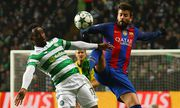 Football 2016 2017 UEFA Champions League Group C Celtic vs Barcelona Moussa Dembele of Celti / Bild: (c) imago/Colorsport (imago sportfotodienst)