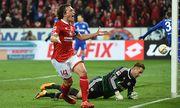 12 02 2016 xjhx Fussball 1 Bundesliga FSV Mainz 05 FC Schalke 04 emspor v l Julian Baumgartl / Bild: (c) imago/Jan Huebner (imago sportfotodienst)