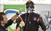 Kara Mbodji nouveau joueur de RSC Anderlecht FOOTBALL Presentation de Kara Mbodji Visite medica / Bild: (c) imago/Panoramic International (imago sportfotodienst)