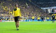 Dortmund Kapitaen Mats Hummels Borussia Dortmund 15 verlaesst beim Aufwaermen unter Pfiffen der Fa / Bild: (c) imago/Eibner (imago sportfotodienst)