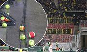 Dienstag 09 02 2016 Saison 2015 2016 DFB Pokal Viertelfinale in der Stuttgarter Mercedes Benz Are / Bild: (c) imago/Thomas Bielefeld (imago sportfotodienst)