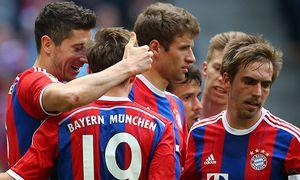 SOCCER - 1. DFL, Bayern vs Frankfurt / Bild: (c) GEPA pictures/ Thomas Bachun