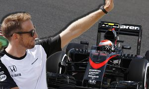 Suzuka Circuit Suzuka Japan Sunday 27 September 2015 Jenson Button McLaren MP4 30 Honda World / Bild: (c) imago/LAT Photographic (imago sportfotodienst)