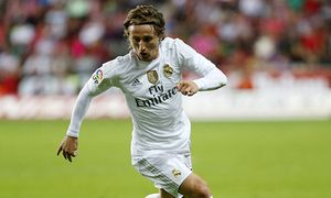 Fussball Spanien Primera Division Sporting Gijon vs Real Madrid Luka Modric xJOSExA xGARCIAx PU / Bild: (c) imago/Marca (imago sportfotodienst)