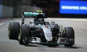 Nico Rosberg Mercedes Grand Prix formula 1 GP Singapore 18 09 2015 Photo mspb Lukas Gorys Nico R / Bild: (c) imago/Thomas Melzer (imago sportfotodienst)