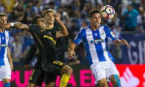 Atletico de Madrid s Augusto Fernandez and Club Deportivo Leganes s Gabriel Appelt Pires during the / Bild: (c) imago/Alterphotos (imago sportfotodienst)
