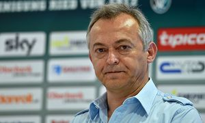 SOCCER - BL, Ried, press conference / Bild: (c) GEPA pictures/ Florian Ertl