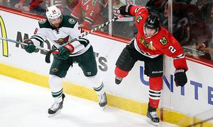 ICE HOCKEY - NHL, Wild vs Backhawks / Bild: (c) GEPA pictures/ USA Today