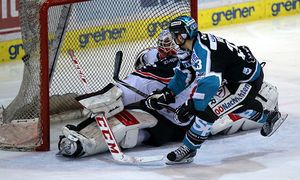 ICE HOCKEY - EBEL, play off, Black Wings vs Znojmo / Bild: (c) GEPA pictures/ Walter Luger