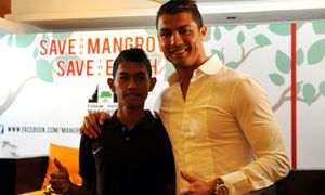 INDONESIA-ENVIRONMENT-POEPLE-RONALDO / Bild: (c) AFP/Getty Images (SONNY TUMBELAKA)