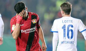 Fußball DFB Pokal 2 Runde Sportfreunde Lotte Bayer 04 Leverkusen am 25 10 2016 im FRIMO Stadion i / Bild: (c) imago/osnapix (imago sportfotodienst)