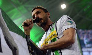 05 02 2016 xhbx Borussia Moenchengladbach SV Werder Bremen emspor v l Martin Stranzl Borussia / Bild: (c) imago/Jan Huebner (imago sportfotodienst)