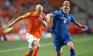 03 09 2015 Fussball Europameisterschafts Qualifikation 7 Spieltag Niederlande Island in der Am / Bild: (c) imago/MIS (imago sportfotodienst)