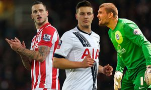 SOCCER - PL, Stoke vs Norwich City / Bild: (c) GEPA pictures/ AMA sports