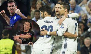 Real Madrid s Garet Bale Real Madrid s Cristiano Ronaldo Real Madrid s Marco Asensio during the matc / Bild: (c) imago/Alterphotos (imago sportfotodienst)