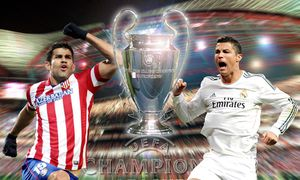 FUSSBALL - CL, Madrid vs Atletico / Bild: (c) GEPA pictures