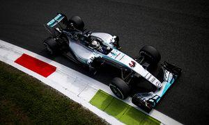 Autodromo Nazionale di Monza Monza Italy Friday 04 September 2015 Lewis Hamilton Mercedes F1 W / Bild: (c) imago/LAT Photographic (imago sportfotodienst)