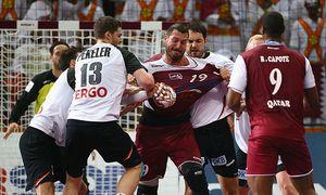 Qatar vs Germany Quarter Finals - 24th Men´s Handball World Championship / Bild: (c) Bongarts/Getty Images (Christof Koepsel)