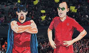 Fussball DFB Pokal Halbfinale Saison 2014 2015 Herren Deutschland 28 04 2015 FC Bayern München / Bild: (c) imago/Bernd Müller (imago sportfotodienst)