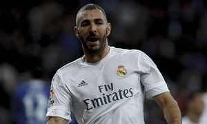 Jan 9 2016 Madrid Spain SPAIN Madrid Real Madrid s French forward Karim Benzema Celebrates a / Bild: (c) imago/ZUMA Press (imago sportfotodienst)