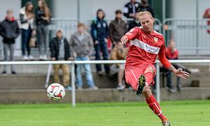 SOCCER - Stuttgart vs Montafon selection / Bild: (c) GEPA pictures/ Oliver Lerch