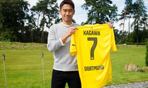 Borussia Dortmund Unveil New Signing Shinji Kagawa / Bild: (c) Borussia Dortmund/Getty Images (Alexandre Simoes)