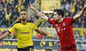 Dortmund Pierre Emerick Aubameyang Borussia Dortmund 17 beim Torjubel nach dem Treffer zum 2 1 Bor / Bild: (c) imago/Eibner (imago sportfotodienst)