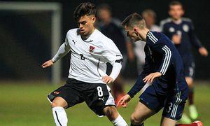 SOCCER - UEFA U19 EURO quali, AUT vs SCO / Bild: (c) GEPA pictures/ Philipp Brem