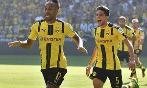 27 08 2016 xblx Fussball 1 Bundesliga Borussia Dortmund FSV Mainz 05 emspor v l Pierre Emeri / Bild: (c) imago/Jan Huebner (imago sportfotodienst)