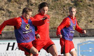 FUSSBALL - OEFB U20 Trainingslager / Bild: (c) GEPA pictures/ Felix Roittner