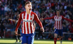 MADRID SPAIN Antoine Griezmann 7 of Atletico de Madrid during the La Liga match between Atletico d / Bild: (c) imago/Cordon Press/Miguelez Spor (imago sportfotodienst)