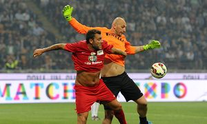 Christian Vieri Christian Abbiati Milano 04 05 2015 Match for Expo Zanetti and Friends Inter / Bild: (c) imago/Insidefoto (imago sportfotodienst)