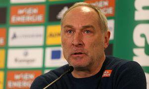 SOCCER - BL, Rapid, press conference / Bild: (c) GEPA pictures/ Philipp Brem