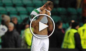 Fußball Europa League Celtic Glasgow Ajax Amsterdam Leigh Griffiths of Celtic is dejected after / Bild: (c) imago/BPI (imago sportfotodienst)