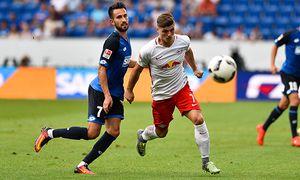 GER 1 FBL TSG 1899 Hoffenheim vs RB Leipzig 28 08 2016 wirsol Rhein Neckar Arena Sinsheim GER / Bild: (c) imago/Nordphoto (imago sportfotodienst)