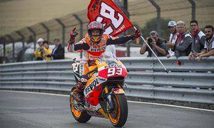 Oberlungwitz Germany 17 07 2016 MotoGP Grosser Preis von Deutschland Race Der Sieger Marc Marq / Bild: (c) imago/DeFodi (imago sportfotodienst)