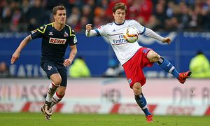 07 02 2016 Fussball 1 Bundesliga 2015 2016 20 Spieltag Hamburger SV 1 FC Köln im Volksparksta / Bild: (c) imago/MIS (imago sportfotodienst)