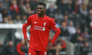 Daniel Sturridge of Liverpool shows a look of dejection after missing a free kick during the Barclay / Bild: (c) imago/BPI (imago sportfotodienst)
