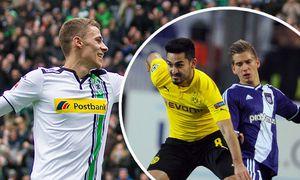 Moenchengladbach Thorgan Hazard Borussia Moenchengladbach 10 und Mahmoud Dahoud Borussia Moenchen / Bild: (c) imago/Eibner (imago sportfotodienst)