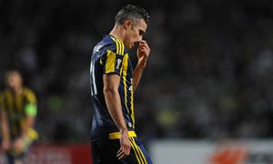 Robin van Persie of Fenerbache is dejected during the UEFA Europa League Group A match between Celti / Bild: (c) imago/BPI (imago sportfotodienst)
