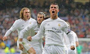 Cristiano RONALDO Real Madrid 7 Torschuss schiesst das Tor zum 2 0 Jubel Freude Emotionen Feier / Bild: (c) imago/ActionPictures (imago sportfotodienst)