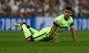 Sergio Aguero of Manchester City during the UEFA Champions League Semi Final Second Leg match betwee / Bild: (c) imago/BPI (imago sportfotodienst)