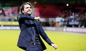 Peter Hyballa coach of NEC during the Dutch Eredivisie match between NEC and SC Heerenveen at the Go / Bild: (c) imago/VI Images (imago sportfotodienst)