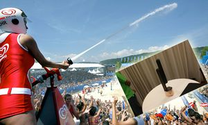 FIVB World Tour, A1 Beachvolleyball Grand Slam 2003 / Bild: (c) Dominic Ebenbichler