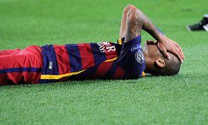 29 09 2015 Barcelona Spain Champions League Barcelona versus Bayer Leverkusen Neymar rues a clo / Bild: (c) imago/Action Plus (imago sportfotodienst)