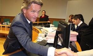 NON SPORTS - fraud trial against Peter Westenthaler / Bild: (c) GEPA pictures/ Christian Ort